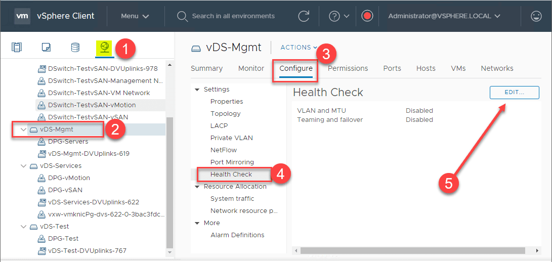 Steps-to-enable-the-vSphere-Distributed-Switch-Health-Check-in-the-vSphere-Client What is the vSphere Distributed Switch Health Check?