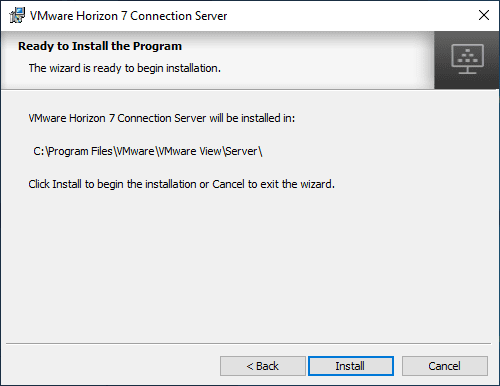 Ready-to-install-Horizon-Connection-Server-7.11