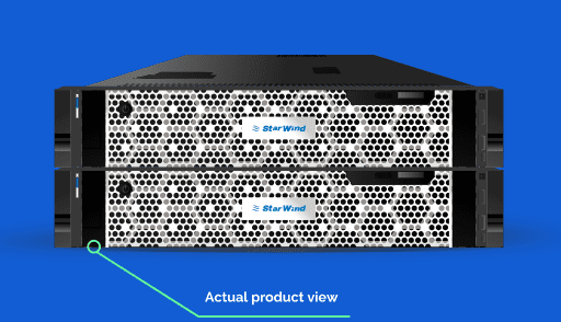 All-flash-StarWind-HCA-appliance Virtual Desktop Online with StarWind VDI and Home Office solution