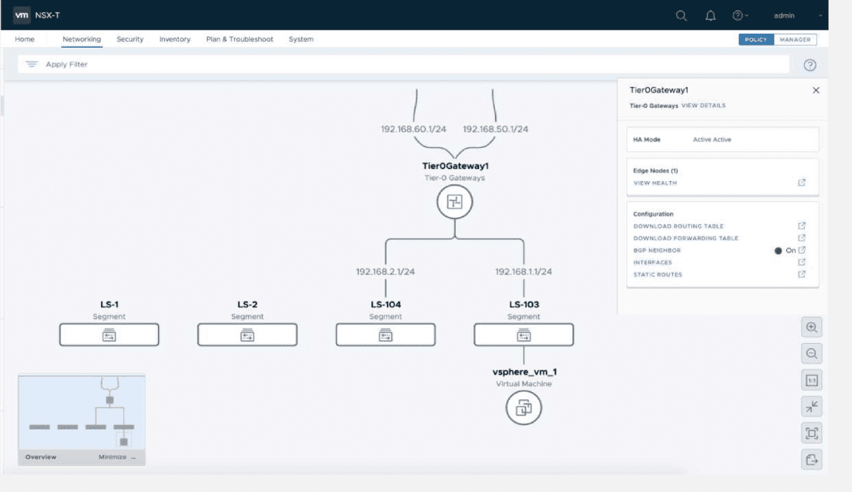 New-network-topology-visualization-with-NSX-T-3.0 VMware NSX-T 3.0 Released with New Features
