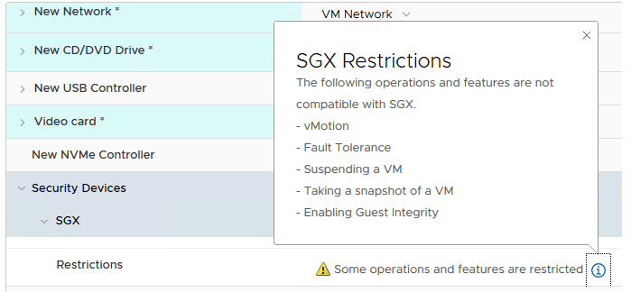SGX-restrictions-as-part-of-the-new-VMware-vSphere-7-security-features-and-improvements VMware vSphere 7 Security Features and Improvements