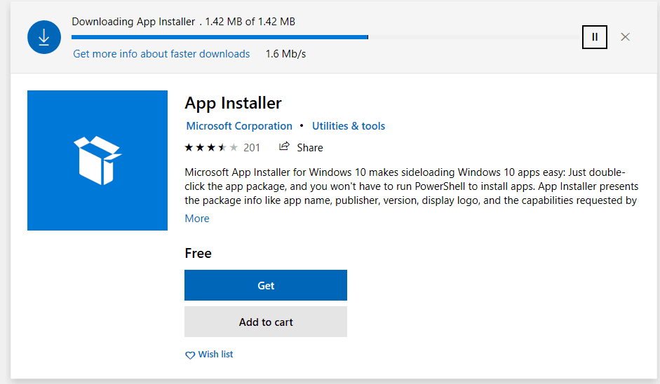 Upgrade-or-install-the-App-Installer-package-in-Windows-10-Preview-to-get-Windows-Package-Manager-preview-with-winget Installing New Windows Package Manager Winget in Windows 10