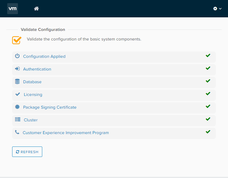 Validate-the-configuration VMware vRealize Orchestrator 8.1 New Features and Installation
