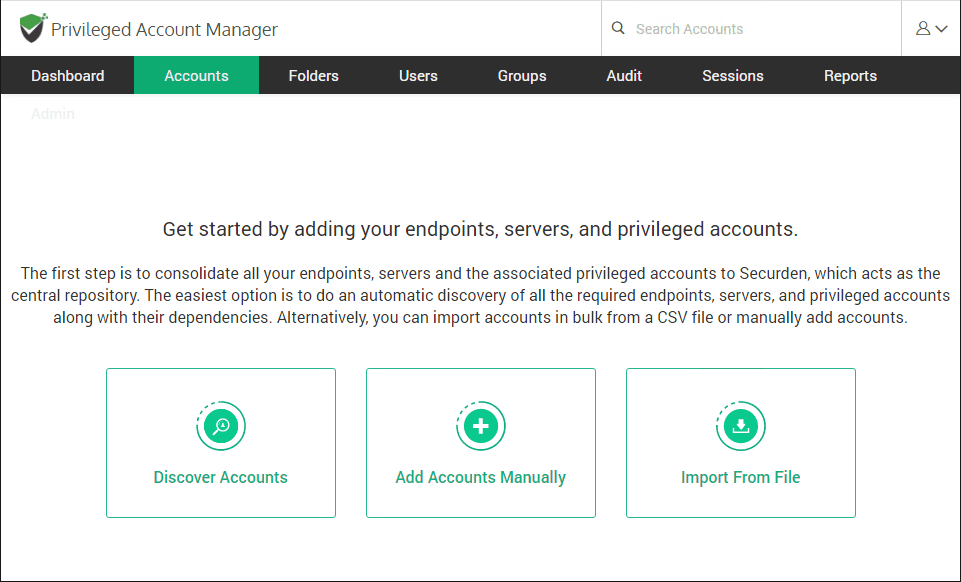Import-accounts-to-your-Securden-environment Easy Windows Server Just In Time Administration JIT