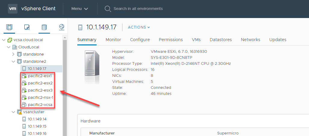 Nested-ESXi-NSX-T-lab-running-on-a-Supermicro-E301-9D VMware NSX Home Lab Setup