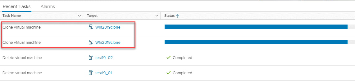 Ansible-deploy-multiple-vm-from-template-tasks-kicking-off-in-vSphere Ansible Deploy Multiple VM from Template VMware