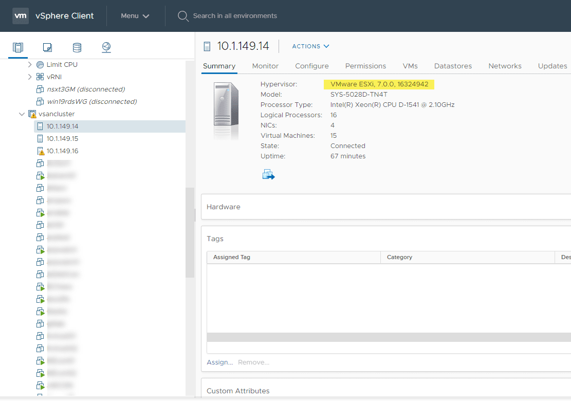 After-rolling-through-all-the-hosts-in-the-vSAN-cluster-they-are-all-on-ESXi-7.0b Upgrade VMware vSAN 6.7 U3 to vSAN 7.0