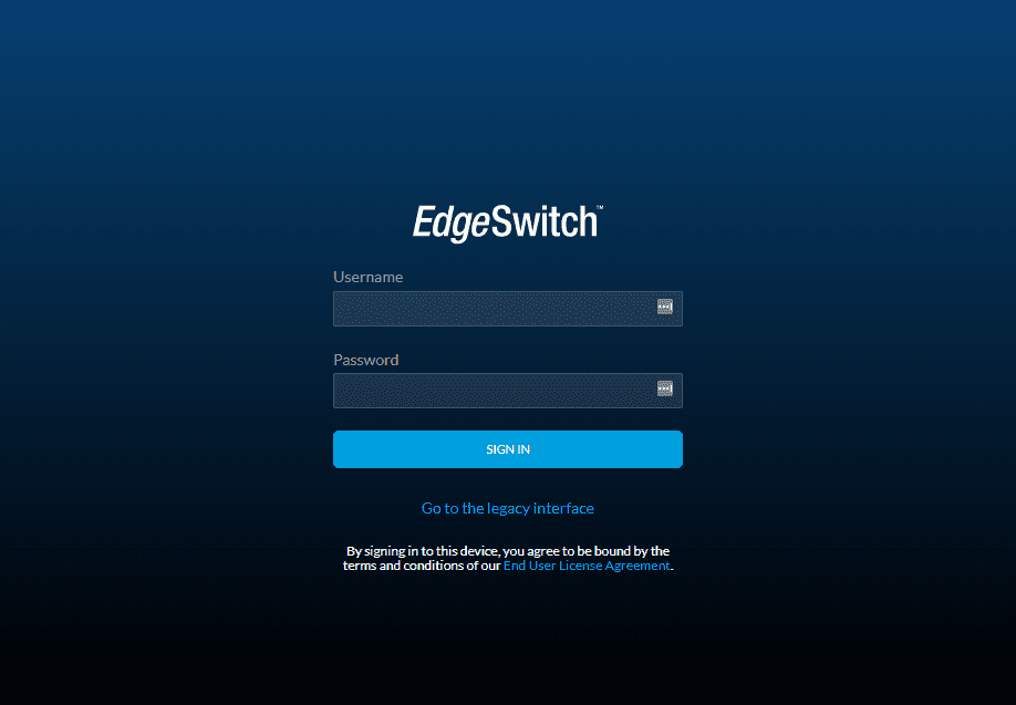 Logging-into-the-Ubiquiti-EdgeSwitch-16XG-for-the-first-time-in-the-web-interface VMware vSAN Home Lab 10 gig Network Switch Upgrade