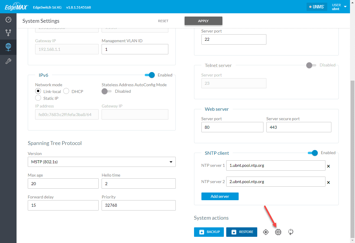 Upgrading-the-firmware-using-the-EdgeSwitch-web-interface VMware vSAN Home Lab 10 gig Network Switch Upgrade