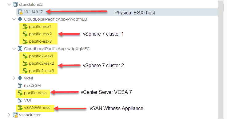 Nested-ESXi-lab-VMs-running-on-a-physical-ESXi-server Nested ESXi Lab Build Networking and Hardware
