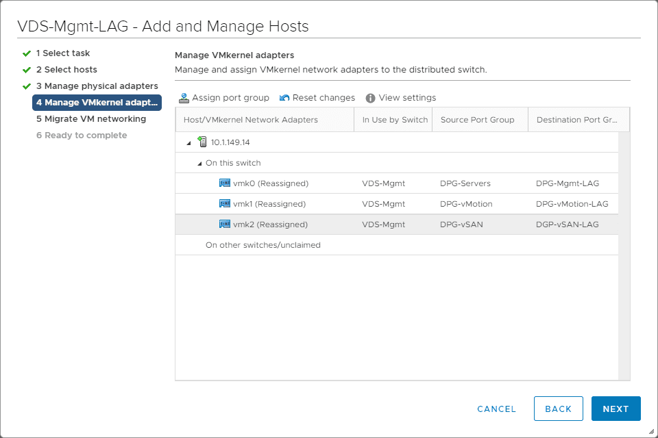 VMkernel-adapters-are-now-reassigned-to-the-LACP-LAG-port-groups VMware LACP Load Balancing Mode in vSAN