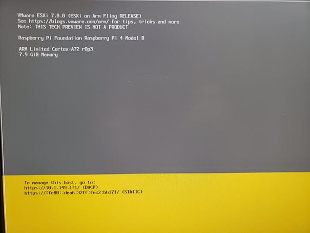 ESXi-on-Arm-fully-booted-after-installation