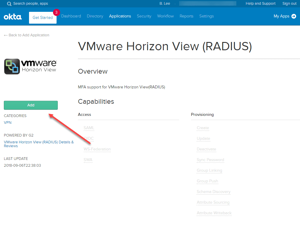 Add-the-VMware-Horizon-View-RADIUS-application