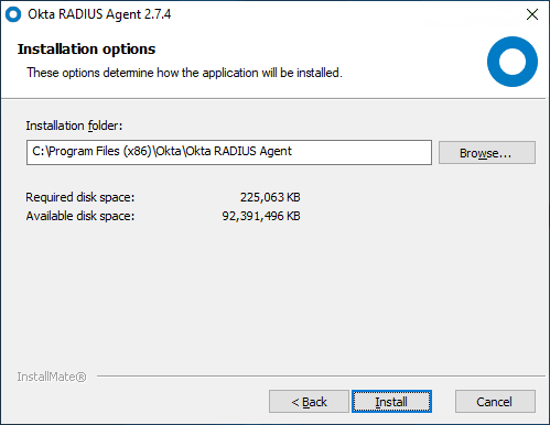Configuring-the-installation-folder-for-the-OKTA-RADIUS-Agent