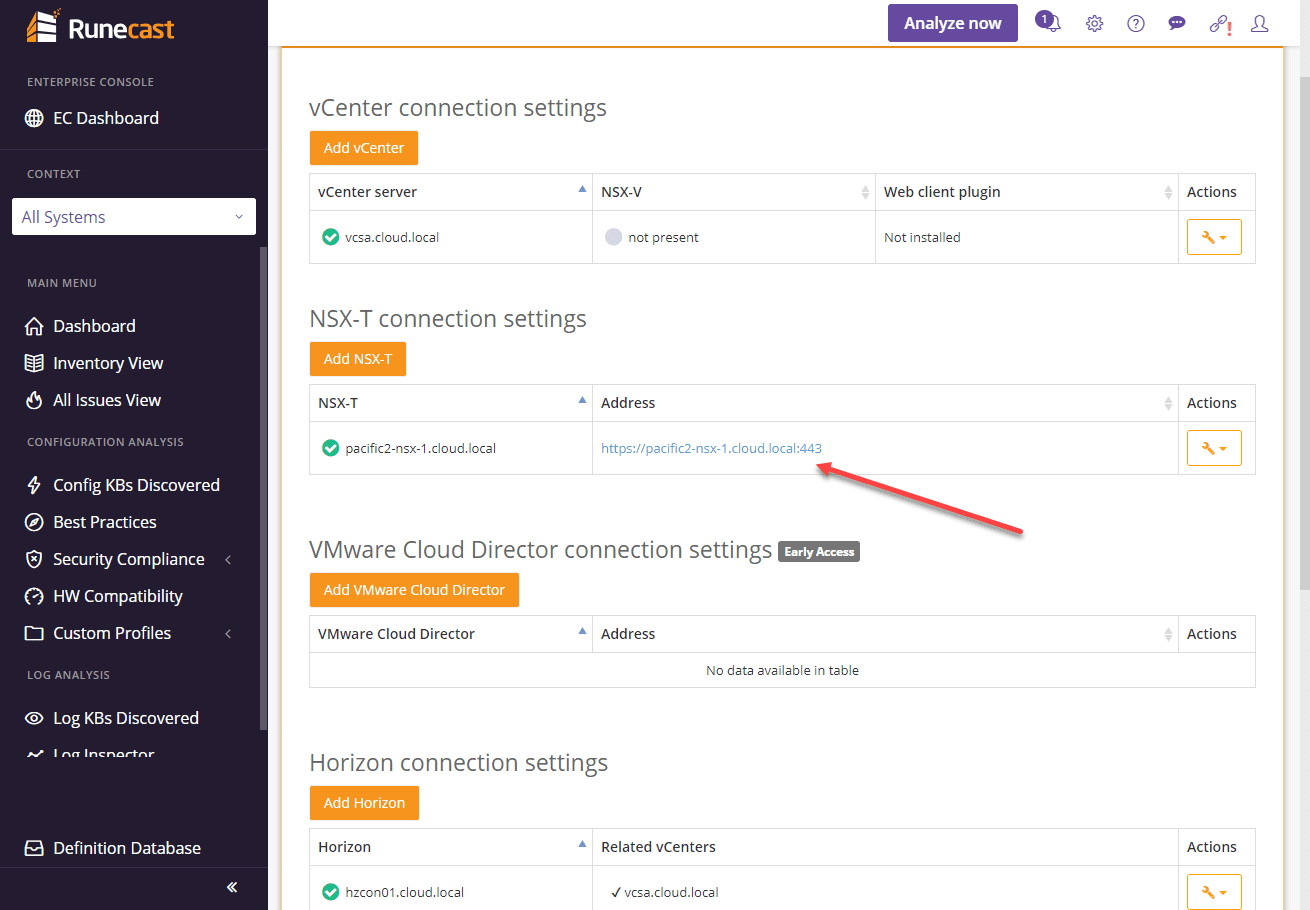 NSX-T-connection-is-successfully-added-in-Runecast-Analyzer-4.7-1