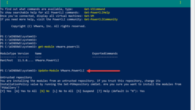 Updating-VMware-PowerCLI-module