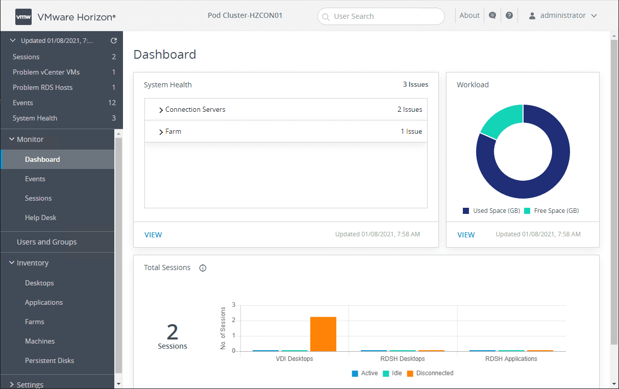 VMware Horizon 2012 Released with New Features