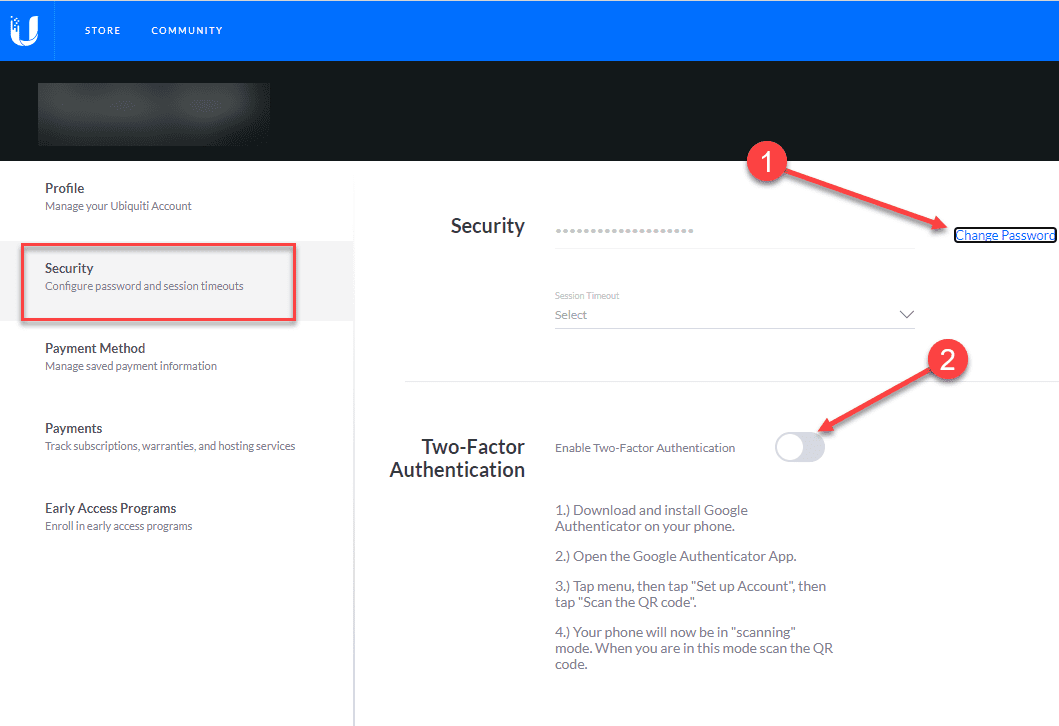 Change your ubiquiti password and enable two factor authentication