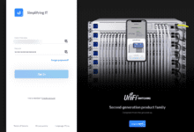Sign into your ubiquiti account to verify your new password and 2fa 1