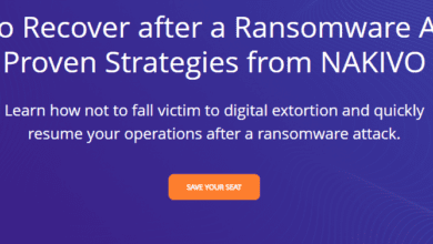 How to recover from a ransomware attack with nakivo