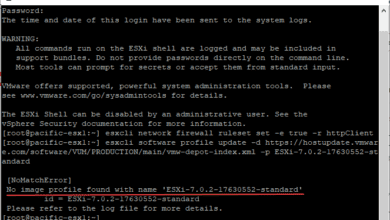 Vmware has pulled the vsphere esxi 7.0 update 2 release