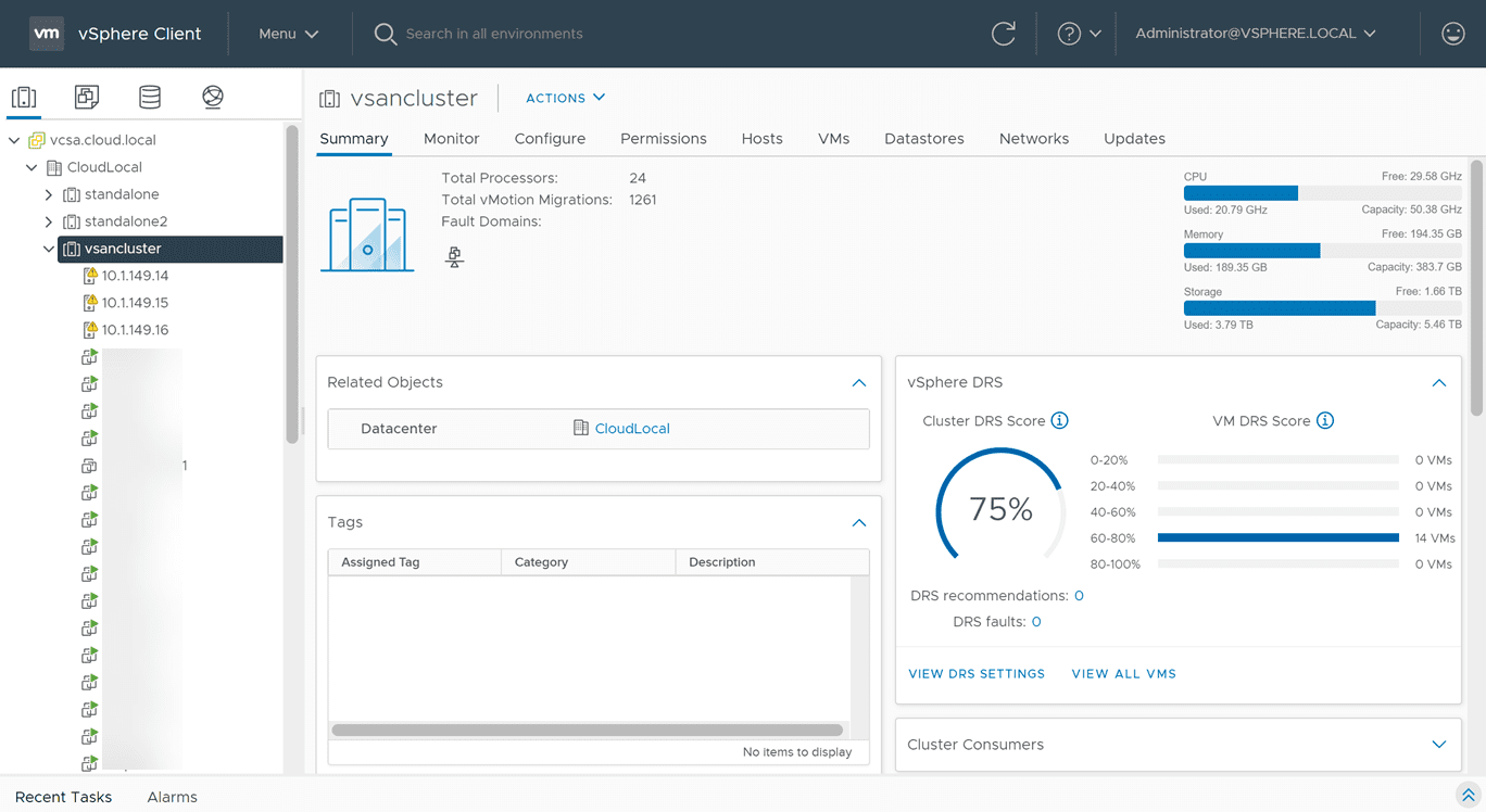 Vmware vcenter 7.0 update 2 brings a new vsphere client interface redesign